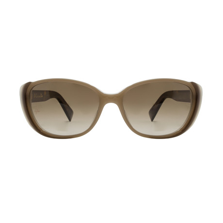 Dior // Women's Cat-Eye Sunglasses // Brown