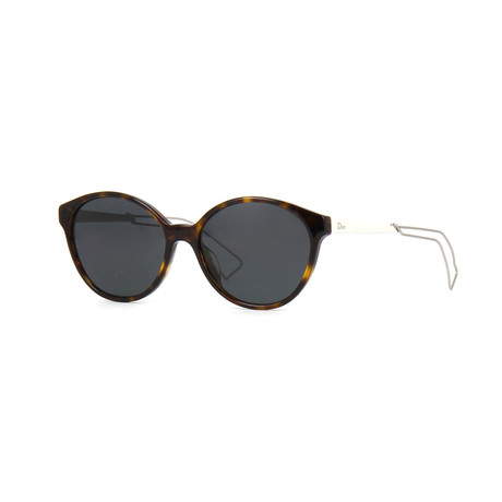 Dior Confident1F Sunglasses // Dark Havana Light