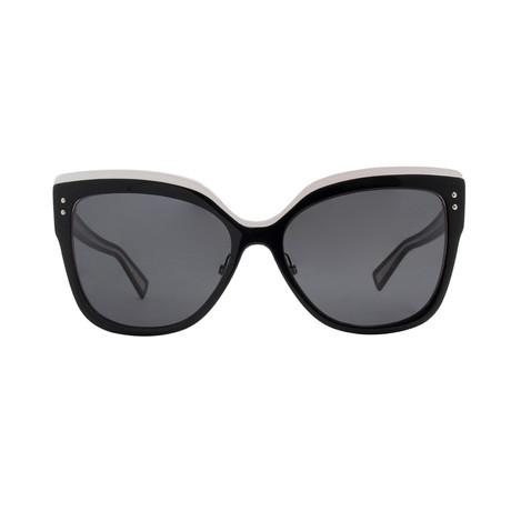 Christian Dior Women's Exquise Sunglasses // Black + White