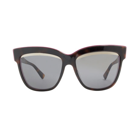 Dior // Women's Graphic Sunglasses // Havana Pink