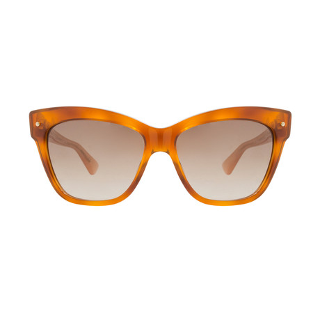 Dior // Women's Jupon Sunglasses // Light Havana