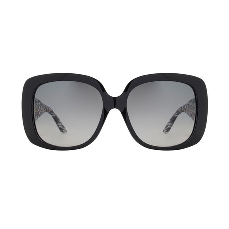 Christian Dior Women's LadyLady1 Sunglasses // Black + White