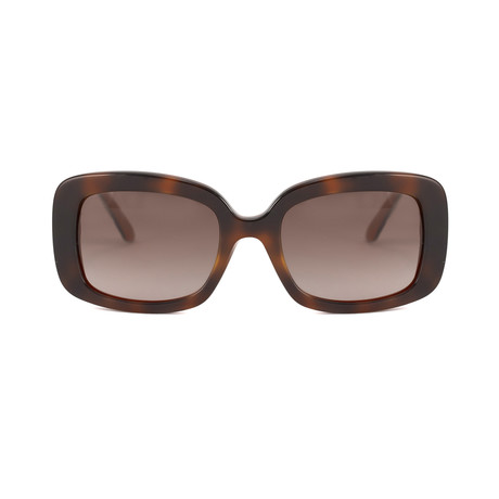 Dior // Women's LadyLady2 Sunglasses // Havana + Red