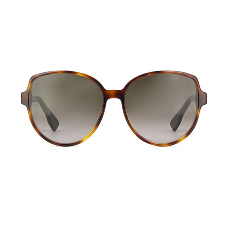 Dior // Women's Dior Onde 2 Sunglasses // Dark Havana Black