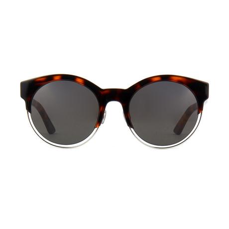 Dior // Women's Dior Sideral1 Sunglasses // Tortoise + Silver
