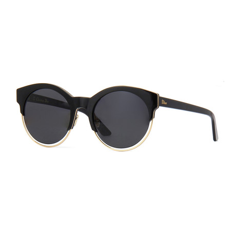 Dior Sideral1 Sunglasses // Black + Gold