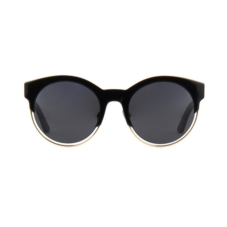 Dior // Women's Dior Sideral1 Sunglasses // Black + Gold