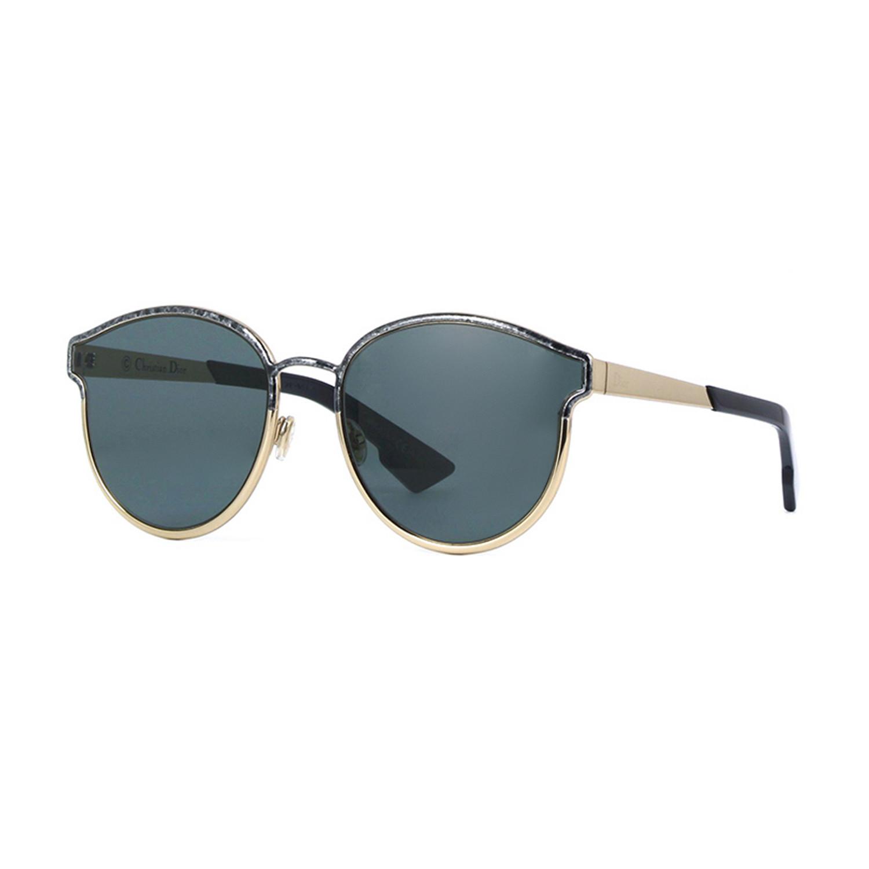 6b8d82de72 Dior    Women s Diorsymmetric Sunglasses    Black Marble + Gold ...