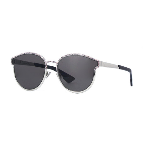 Diorsymmetric Sunglasses // Silver + Multicolor