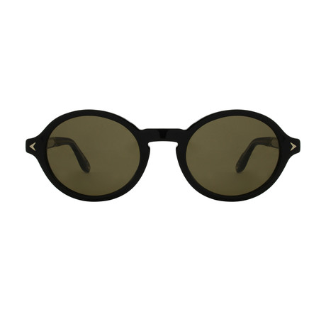 Givenchy // Men's Round Sunglasses // Black