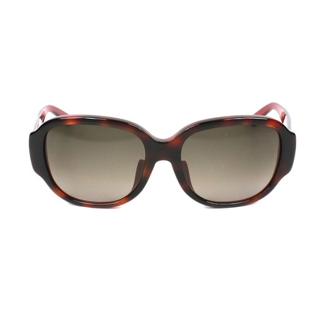 Dior // Women's Lady In Dior 2F Sunglasses // Havana