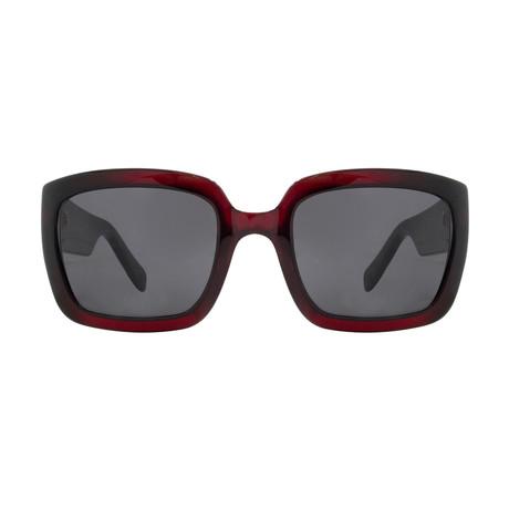 Christian Dior Women's My Dior1 Sunglasses // Red + Black