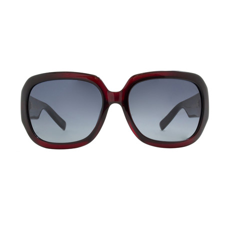 Christian Dior Women's My Dior2Fn Sunglasses // Red + Black