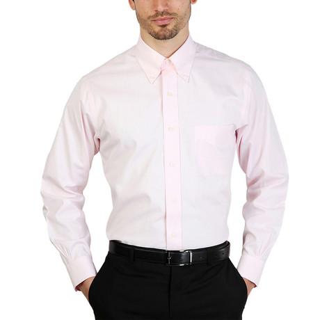 Hong Slim Fit Shirt // Pink (S)