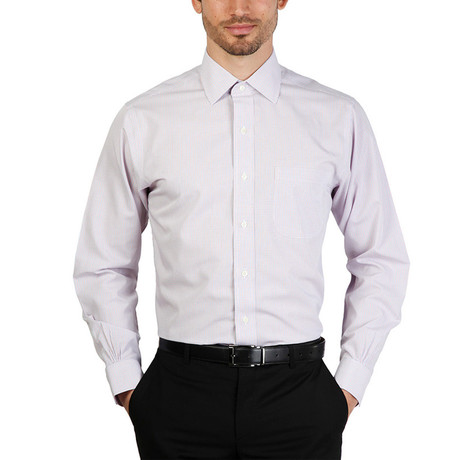 Noel Slim Fit Shirt // Violet (S)