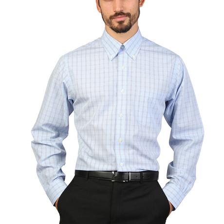 Warner Slim Fit Shirt // Blue (S)