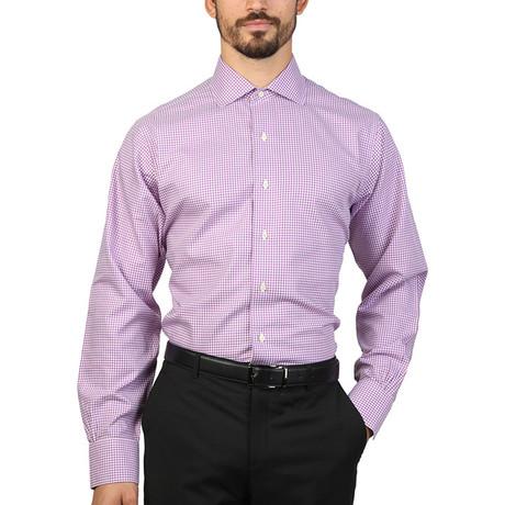 Trent Slim Fit Shirt // Violet (S)