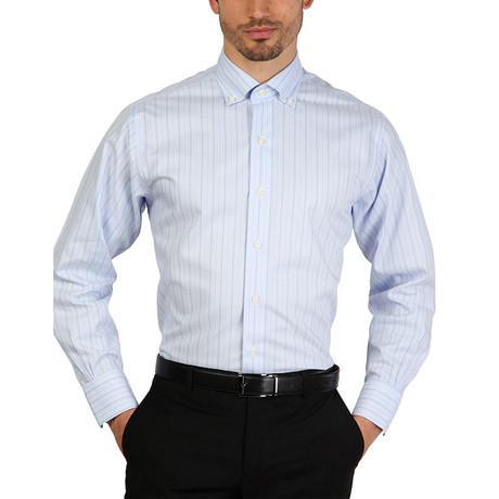 Brandon Slim Fit Shirt // Blue (S)