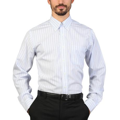 Barrett Slim Fit Shirt // Blue (S)