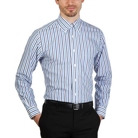 Delmar Slim Fit Shirt // Blue (S)