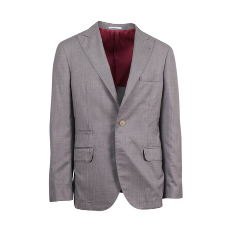 Cotton Sport Coat I // Brown (Euro: 44)