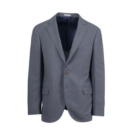 Wool Blend Sport Coat II // Blue (Euro: 44)