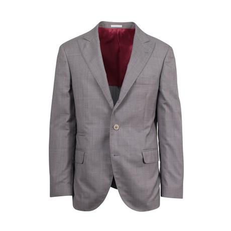 Wool-Silk Sport Coat // Gray (Euro: 44)