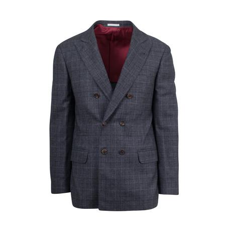 Cashmere-Wool DB Sport Coat // Gray (Euro: 44)
