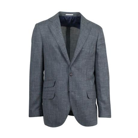 Wool Blend Sport Coat // Green (Euro: 44)