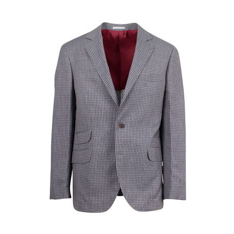Wool Blend Sport Coat II // Gray (Euro: 44)