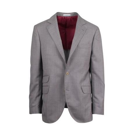 Wool-Silk Sport Coat // Brown (Euro: 44)