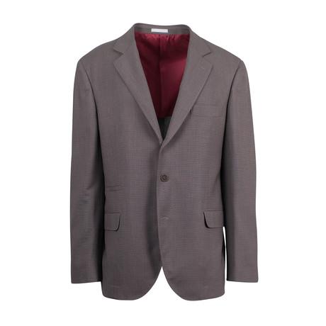 Wool Blend Sport Coat III // Brown (Euro: 44)