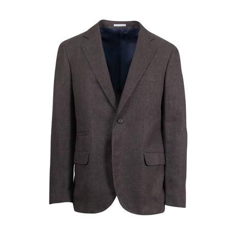 Wool Blend Sport Coat II // Brown (Euro: 44)