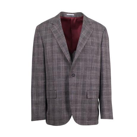 Wool Blend Sport Coat I // Brown (Euro: 44)