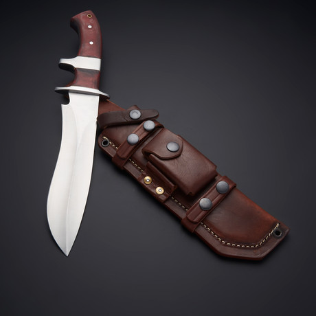 D2 Tactical Operator Sub Hilt Bowie Fighter Knife