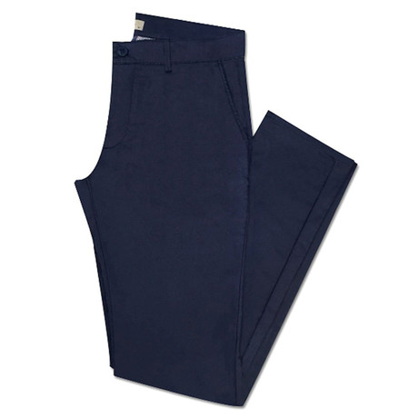 Gale Slim Fit Pant // Navy Blue (36WX34L)