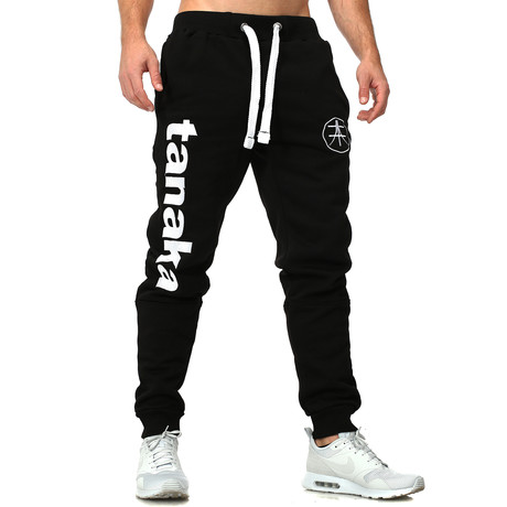 Vertical Joggers // Black + White (S)