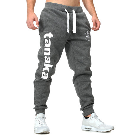 Vertical Joggers // Anthracite + White (S)