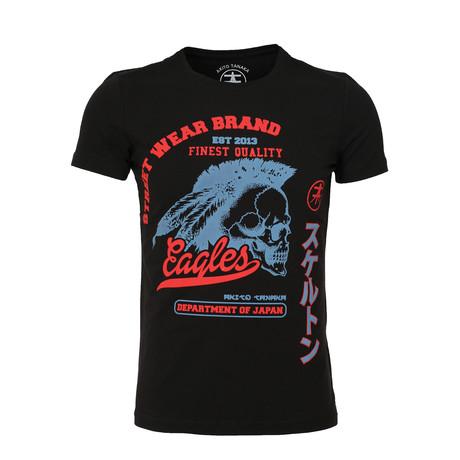 Skull T-Shirt // Black (S)