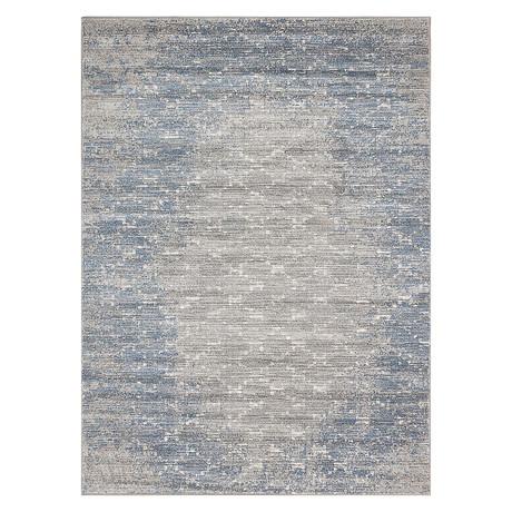 "Impressions // Blue + Grey (5'3""W x 7'3""L)"