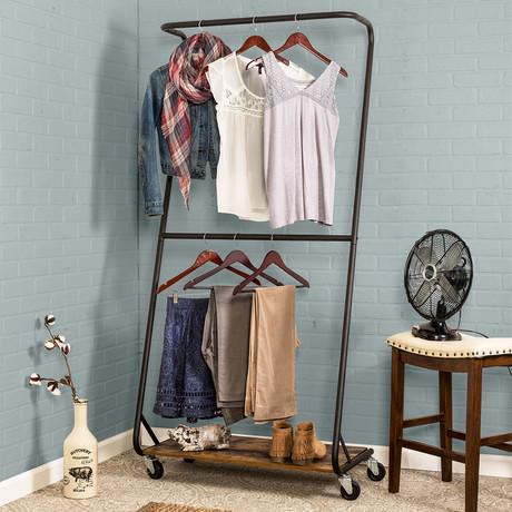 Z-Frame Garment Rack