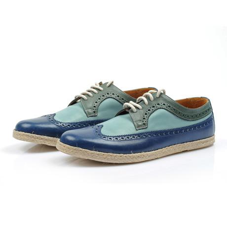 Cristobal Shoe // Blue (Euro: 40)