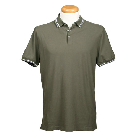 Regular Fit Polo Shirt // Green (XS)