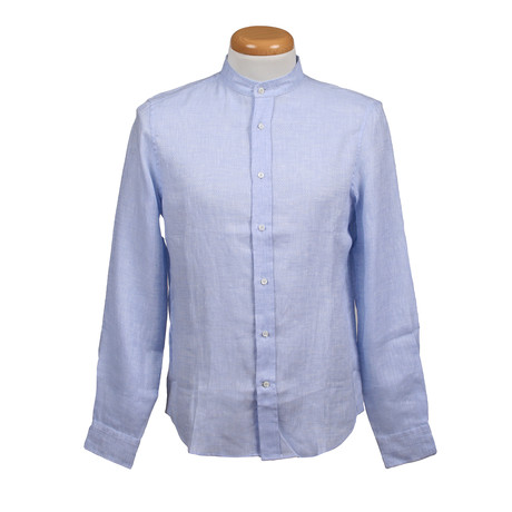 Leisure Fit Long Sleeve Shirt II // Blue (XS)