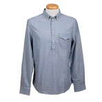 Leisure Fit Long Sleeve Shirt III // Blue (XL)