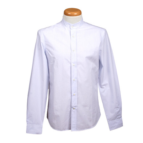 Brunello Cucinelli // Leisure Fit Long Sleeve Shirt // White (S)