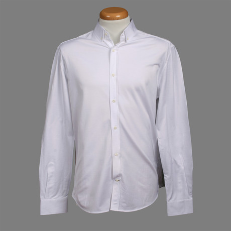 Leisure Fit Long Sleeve Shirt III // White (XS)