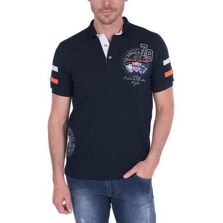 Polo Shirt Short Sleeve // Navy