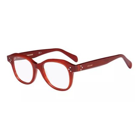 CÉLINE Eyeglasses // 41457-C9A // Red Frame