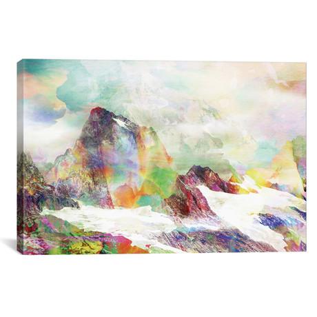 """Glitch Mountain // Andreas Lie (40""""W x 26""""H x 1.5""""D)"""